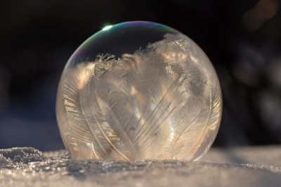 Zamrznuté bubliny